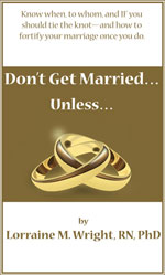 New Book : DON'T GET MARRIED…..Unless!
